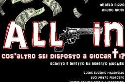 Roma. Teatro Trastevere presenta All In, una commedia amara sulla quotidianità di un giocatore