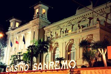 Casinò di Sanremo: nei primi quattro mesi dell'anno incassi a 14,7 milioni di euro