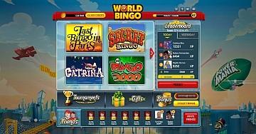 World of Bingo lancia i tornei di video bingo
