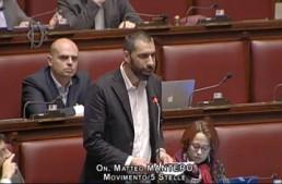 """Dl Banche. Mantero (M5S): """"Il PD è dipendente dalle lobby dell'azzardo"""""""
