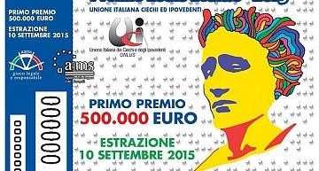 """Cola (Presidente UICI Regionale Lazio): """"La conferma del Premio Louis Braille accanto alla Lotteria Italia conferma che, oltre il premio, dietro l'acquisto di un biglietto c'è molto altro"""""""