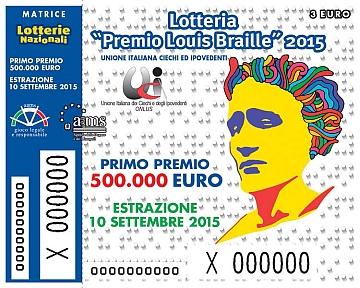 """Estratti i biglietti della Lotteria """"Premio Louis Braille 2016"""", ma alla sede livornese dell'UICI un nuovo furto porta via tutti i proventi"""