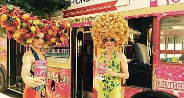 Bus Mob Expo 2015: intrattenimento in giro