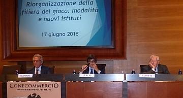 Roma. Il settore del gioco si incontra per discutere con Baretta della propria riorganizzazione