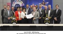 SUZOHAPP presente al meeting BCE per la nuova banconota da 20 euro