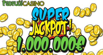 People's Casino: jackpot da un milione di euro sulle slot World Match