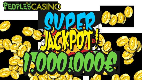People's Casino: jackpot da un milione di euro sulle slot World Match