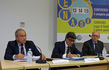 """Roma: si apre la 43ma Enada. Curcio (Sapar): """"Impossibile pensare di mantenere un settore con un quadro normativo così instabile"""""""