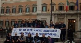 L'Associazione And protesta contro la Stabilità davanti al Parlamento