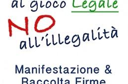 Bolzano scende in piazza per dire #BastaProibizionismo, sì al gioco legale e no all'illegalità
