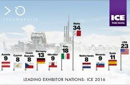 Italia, medaglia di bronzo nel podio degli espositori di ICE 2016