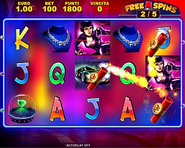 Mister X - Free spins con TNT