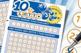 """Decretone: la ritenuta sulle vincite del """"10&Lotto"""" sale all'11%"""