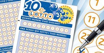 Lotto e 10&Lotto: al via le nuove misure tecniche sulle giocate