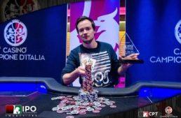 Casinò di Campione. Italian Poker Open vinto da Mathias Jordi