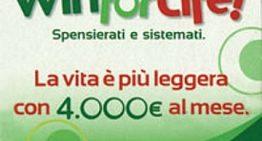 Win for Life: vinta la 454esima rendita a Roma