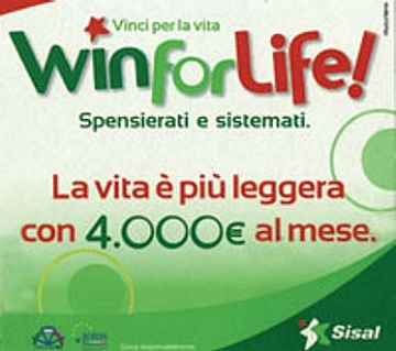 Su superlotter!e, arriva anche Win for Life