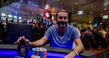 "Casinò di Campione. Poker: Federico Cipollini vince ""Barracudas"""