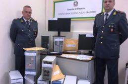 """Sicilia. Conclusa l'operazione """"Gioco Sporco"""", blitz dei finanzieri in sale giochi e sale commesse abusive"""