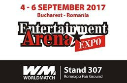 Worldmatch espone per la prima volta all'Entertainment Arena Expo di Bucarest