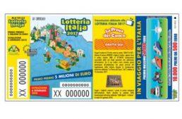 ADM. Comunicazione furto biglietti Lotteria Italia 2017