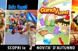 Capecod Gaming aggiunge 4 nuovi titoli di slot in versione Multichannel: Guardians of the Kingdom, Bella Napoli, Candy Land e Ercole