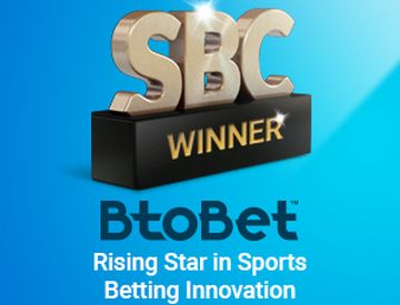 "BtoBet vince ai SBC Awards 2017 nella categoria ""Rising star in Sports Betting Innovation 2017""."