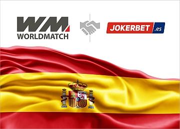 Worldmatch sigla un accordo di fornitura con Jokerbet.es