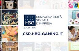 HBG Gaming presenta il sito dedicato alla Responsabilità Sociale d'Impresa