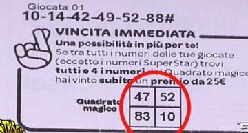 Superenalotto bacia Milano con una vincita da 114mila euro