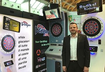 Al Rimini Amusement Show, spopolano le freccette online Vispi