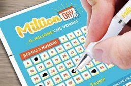 Grugliasco baciata dalla fortuna: vinto 1 milione al MillionDAY
