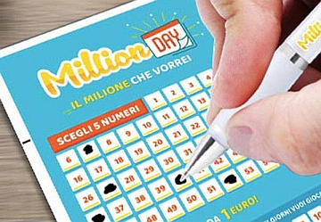 MillionDAY: la fortuna tocca la Campania