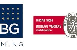 Il Gruppo HBG Gaming ottiene la prestigiosa certificazione OHSAS 18001