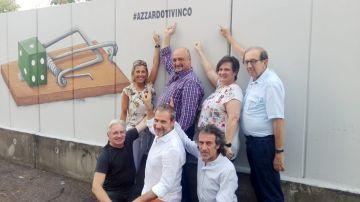Associazione 'AND', un murales contro l'azzardo a Castellanza