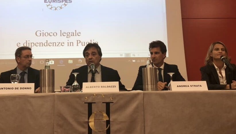Puglia. Baldazzi, De Donno e Sambaldi (Osservatorio Eurispes Gioco) auditi in IIIa Commissione