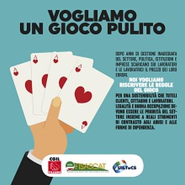 Sindacati in campo contro la stretta normativa degli enti locali, il 16 novembre al via la mobilitazione #vogliamoungiocopulito