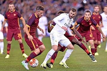 Roma – Real Madrid: i riflettori si accendono sull'Olimpico