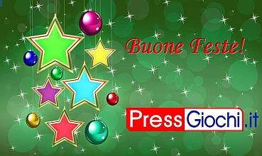 Buon Natale dalla Redazione di PressGiochi