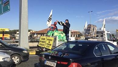 Roma. Traffico del Raccordo bloccato dai gestori di slot in protesta