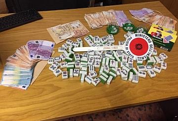 Prato: gioco d'azzardo al centro benessere, sequestrati 18.600 euro