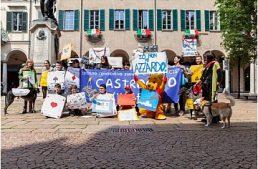 Varese. In piazza Podestà, Flash mob contro l'azzardo dell'associazione And