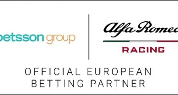 Betsson Group diventa Official European Betting Partner di Alfa Romeo Racing