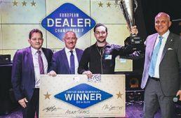 Lo svizzero Adam Tamas incoronato European Dealer Champion 2019