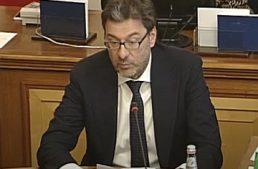 """Giorgetti: """"Su Totocalcio, scelta rivoluzionaria del Governo di rilanciare concorsi pronostici"""""""