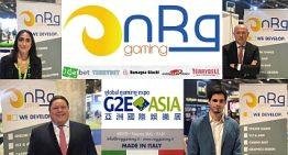 G2E Asia: Nazionale Elettronica presenta con successo 'NRG Gaming' al mercato asiatico