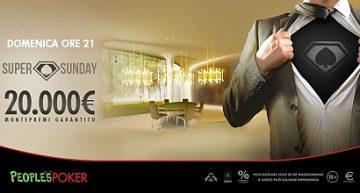 People's Poker: da Napoli vince il buy-in con freesat e poi il Super Sunday da 20K