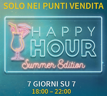Planetwin365 lancia l'Happy Hour Summer Edition
