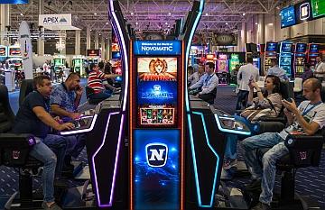 Novomatic, Scientific Games e IGT, all'EAE 2019
