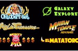 Capecod Gaming annuncia sei nuove slot per il mercato online